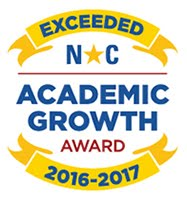 Exceeded NC Academic Growth Award 2016-2017